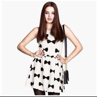 降價❗️H&M蝴蝶結俏麗小洋裝