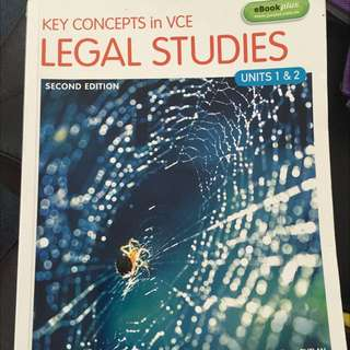 Key Concepts Legal Studies Unit 1&2