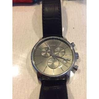 Calvin Klein 三眼 時尚手錶