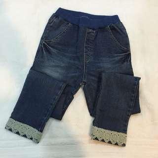 正韓 Amber 牛仔褲(褲長72公分)