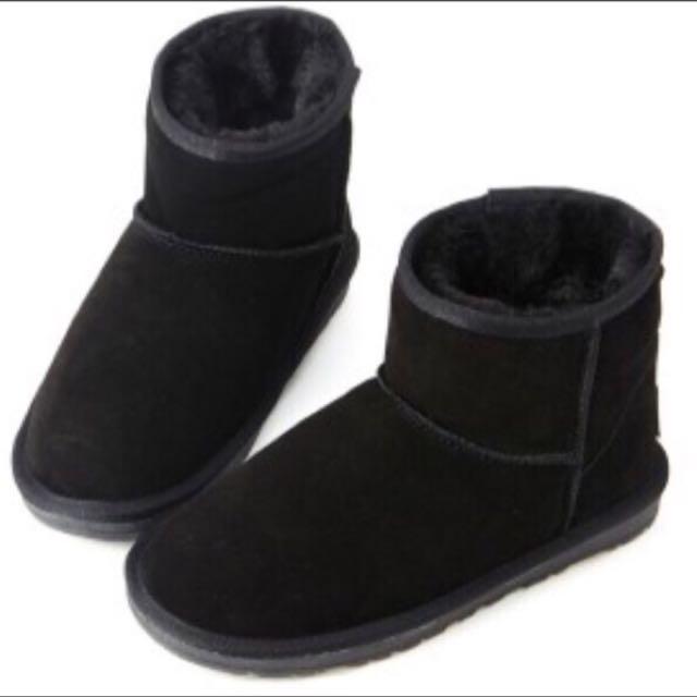 暖洋洋 黑色雪靴