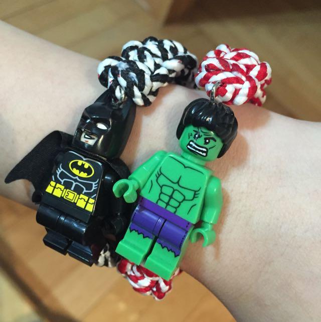 造型手環 蝙蝠俠/浩克