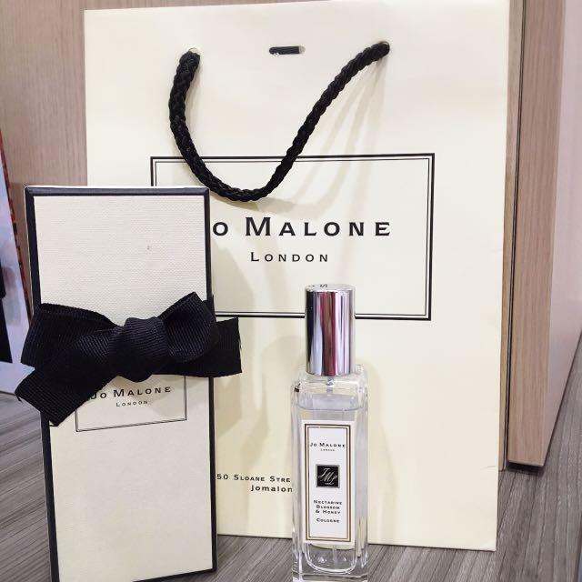 英國 🇬🇧Jo Malone Nectarine Blossom & Honey 杏桃花與蜂蜜香水 30ml