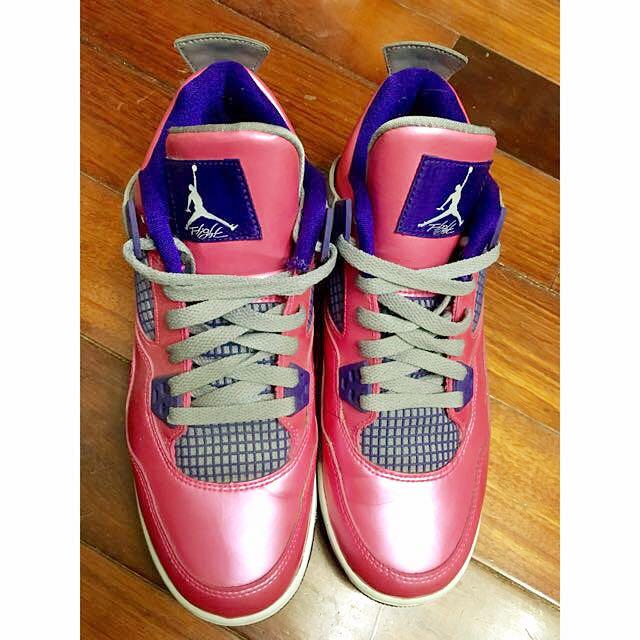 Air Jordan 4 Retro 粉紅