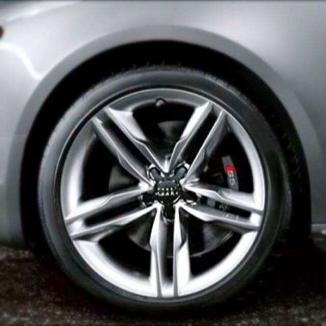 "Audi S5 Original 19"" Wheels With Tyres, Cars On Carousell"