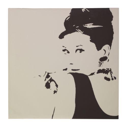 Audrey Hepburn picture from IKEA