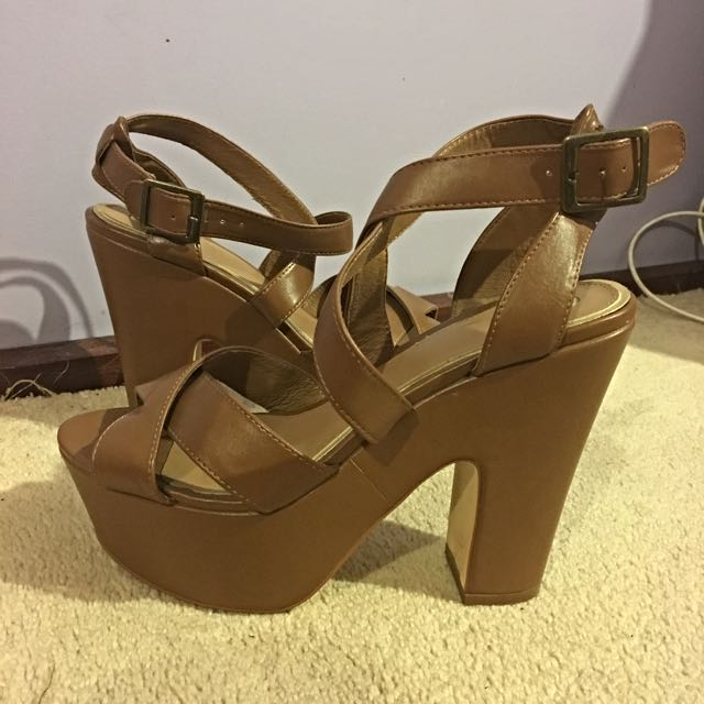 Brown ZU Heels