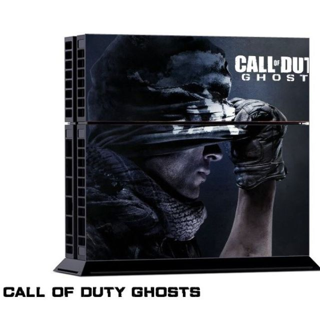 Call of Duty Ghost Theme Skin Decal for PS4