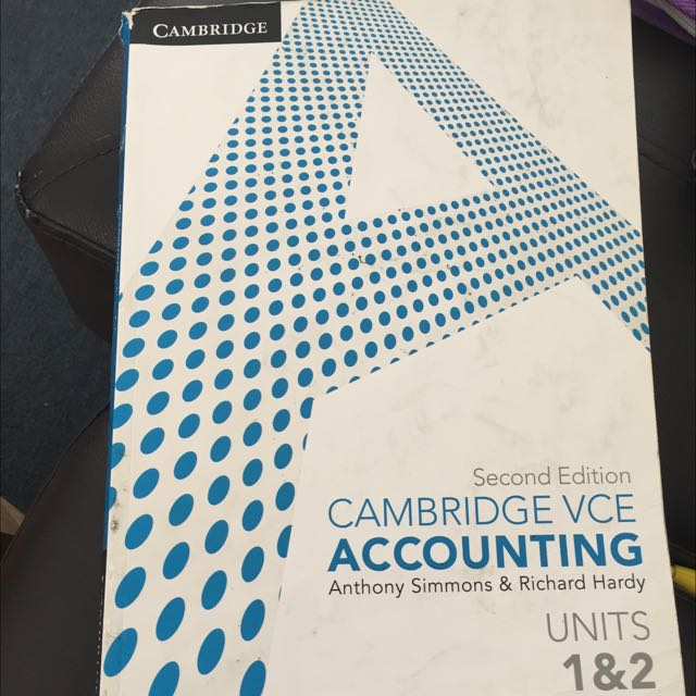 Cambridge VCE Accounting