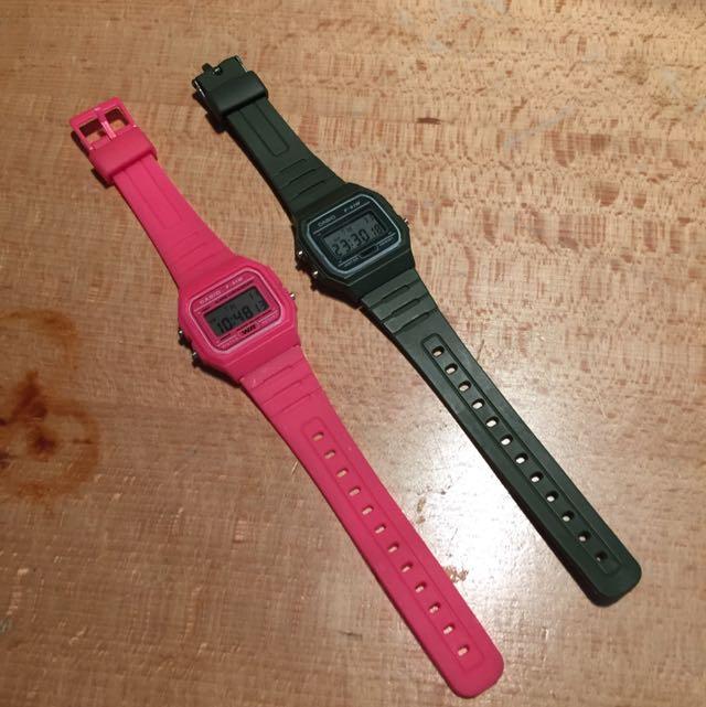 CASIO 糖果色手錶