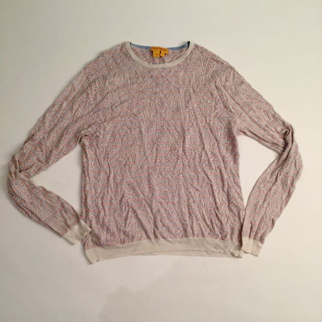 Color Knit Sweater