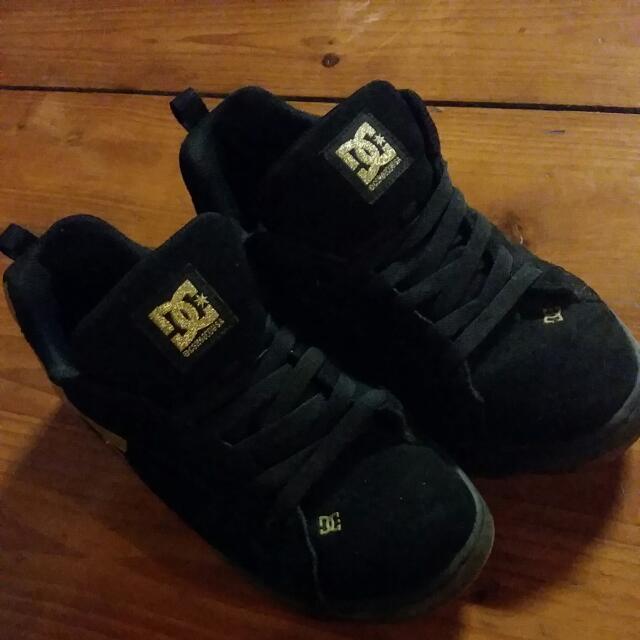 DC 麂皮材質 運動鞋 38號