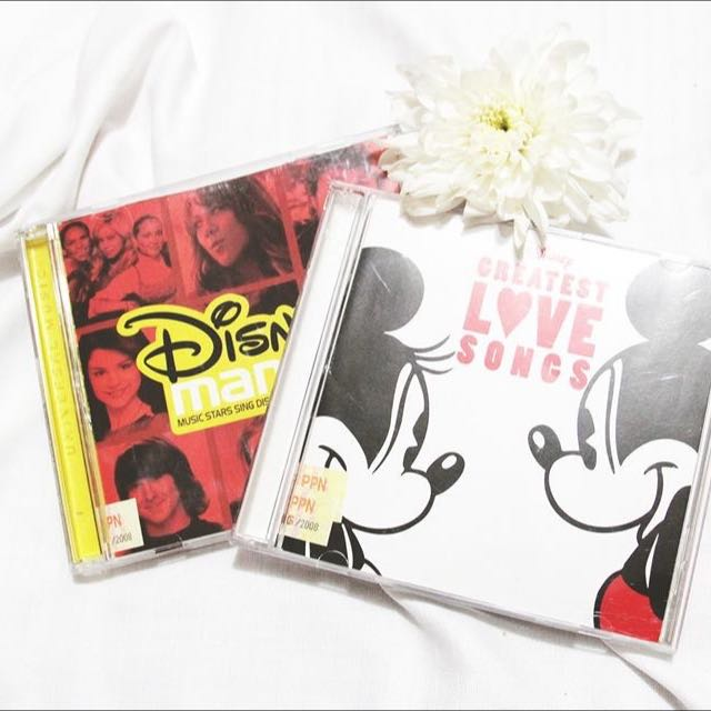 Disney Mania 6 & Disney Greatest Love Songs. (CD)