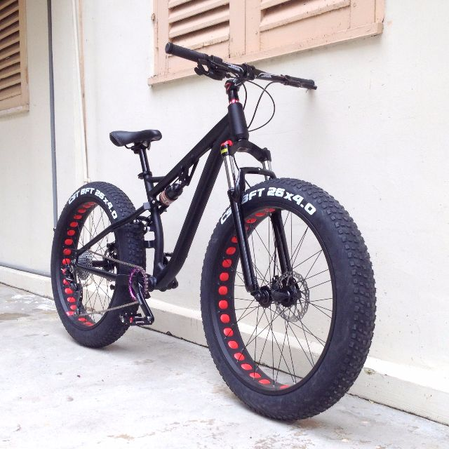Full Suspension Fat Bike Sports Bicycles On Carousell
