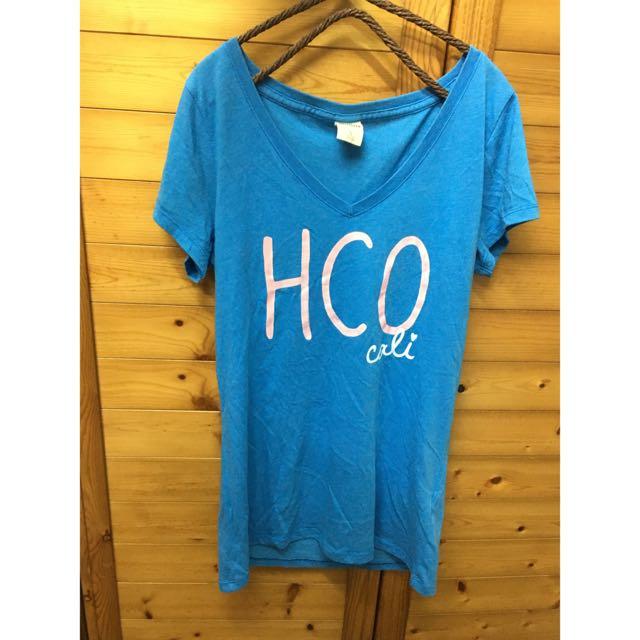 Hollister淺藍短袖 T-shirt