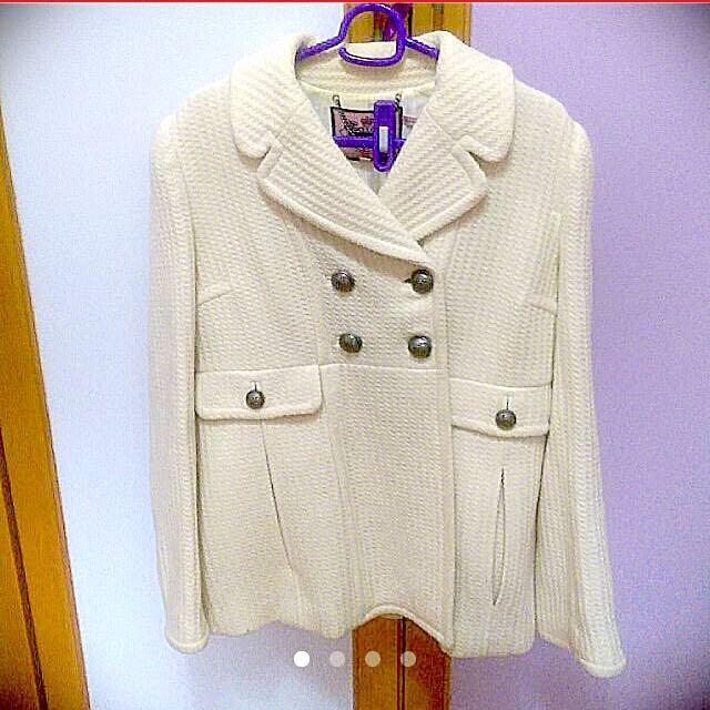 Juicy Couture 米白色可愛公主風大衣