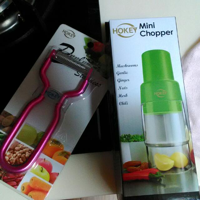 Mini Chopper And Stainless Peeler