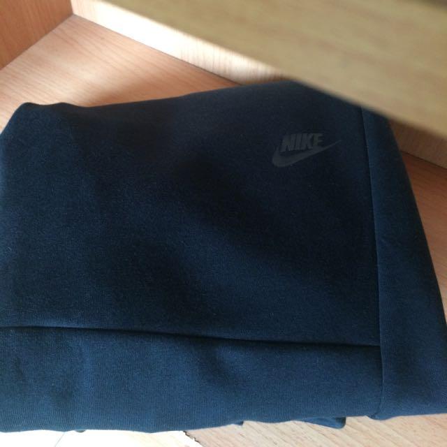Nike Tech Fleece Pants 縮口褲 棉褲 黑色 防水長拉鍊 型號:545344-011