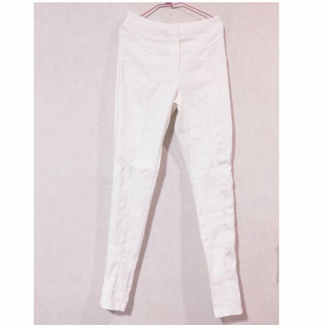 [全新]*pazzo* 全新黑白兩色貼身直筒長褲