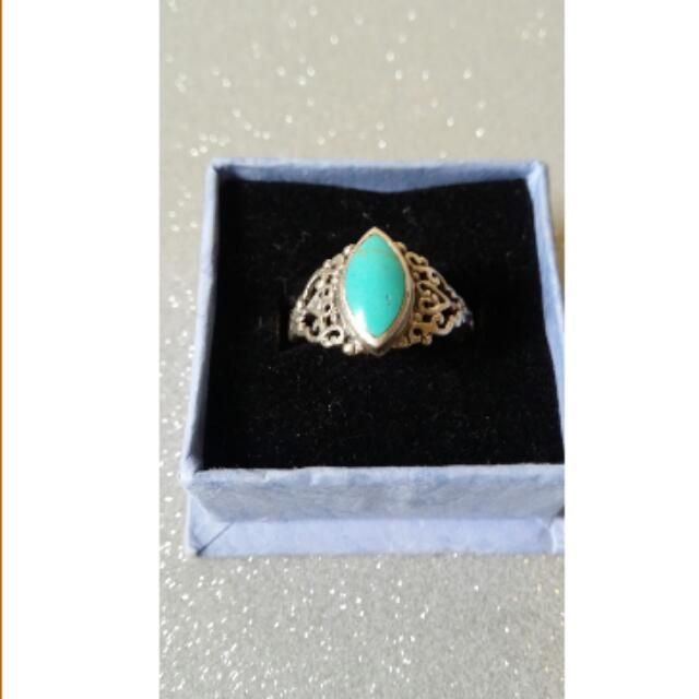 Sterling Silver Turqoise Ring