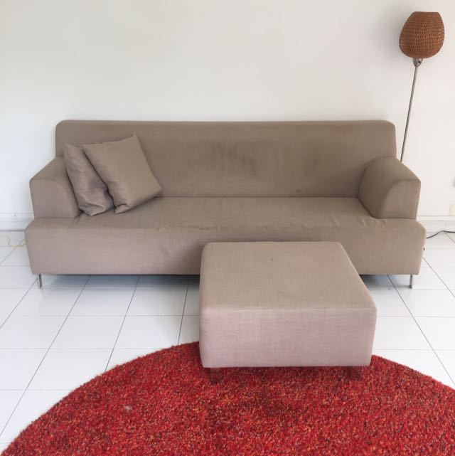 Sofa With Footrest Furniture On Carou