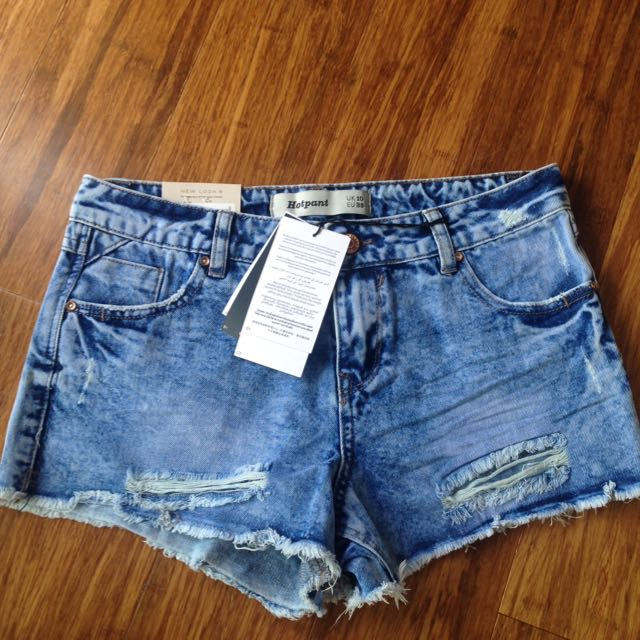 Still With Tags New Look Denim Shorts