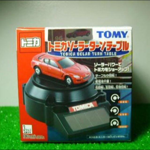 【徵】Tomy 原廠 太陽能 旋轉台 火柴盒 小汽車 多美 Tomica Takara