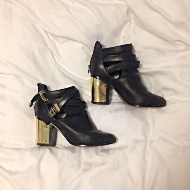 Windsor Smith Cut Out Ankle Boots