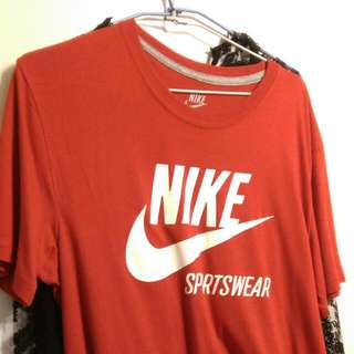 Nike Logo T Fit 2XL大紅色