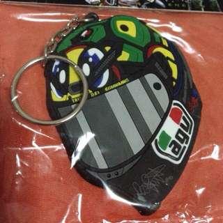 Rossi Helmet Keychain