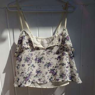 MINKPINK Floral Crop Top