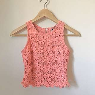 Floral Crop Top Small