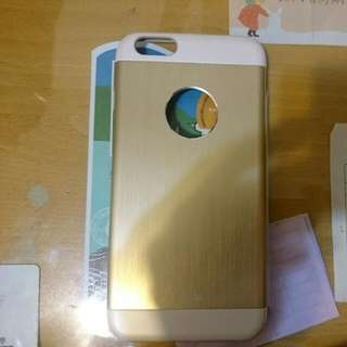 iphone 6 plus Moshi 金色9成新背蓋