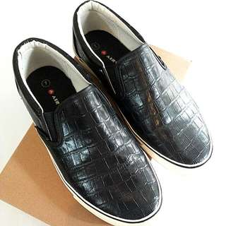 Airwalk Slip On Black-ORI