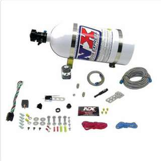 nitrous express single nozzle dry nitrous kit with all accessories  (universal )