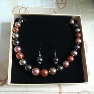 🎊 全新 🎊珍珠項鍊(貝寶珠)