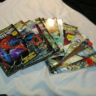 Amazing Spider Man 01-11, 13