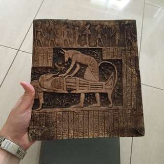 **Reduced** Egyptian Stone Carving Slab