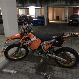KTM EGS (Converted To SX Kit)
