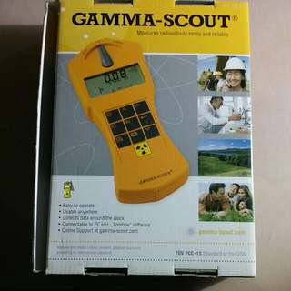 STILL AVAILABLE!!! GAMMA-SCOUT Radioactivity Measurement Radioactive Meter