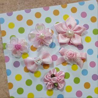 Baby Pink Floral Flower Series Brooch