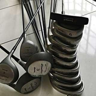 Golf Clubs, Mizuno Is Sold. Left With Daiwa Club.345789SPF