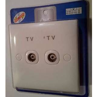 電視入牆插座 TV Wall Outlet