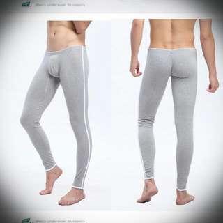 全新⭐男素色棉衛生褲L號