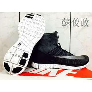 Nike Free Flyknit Mercurial (黑灰)