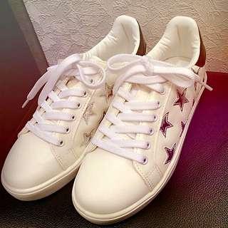 正韓特價星星休閒鞋