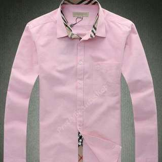 Burberry Men Collar Shirt
