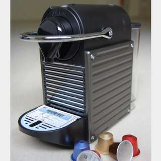 Pre-loved Nespresso Pixie With Milk Frother