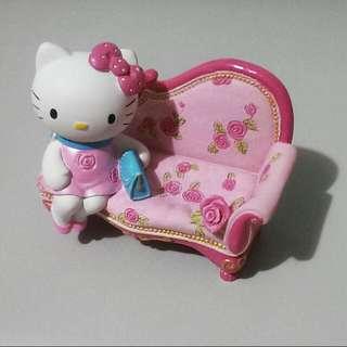 Hello Kitty貴妃椅擺飾
