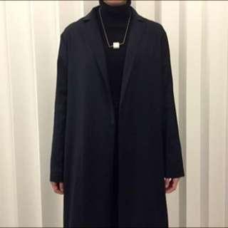含運🌙韓國正裝長版西裝外套